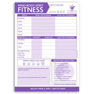 Mind • Body • Spirit Fitness 6.5″x9″
