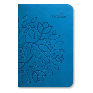 The Life Coach In-a-Book, Faux Leather Cover—Turquoise