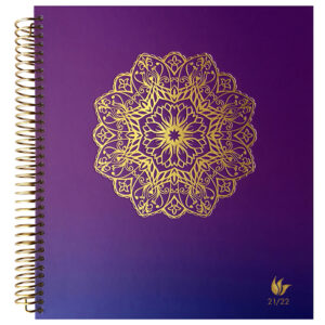 2021-2022 (July-June) Dated Academic Yearly Planner—Radiance (hardcover)