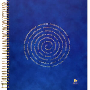 2021-2022 (July-June) Dated Academic Yearly Planner—Spiral Of Life (hardcover)
