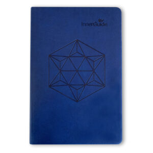 The Life Coach In-a-Book, Faux Leather Cover—Midnight