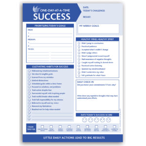 One Day At-a-Time Success 6.5″x9″