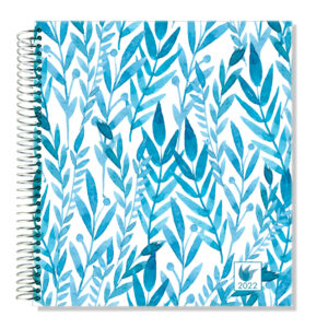 2022 (Jan-Dec) Dated Yearly Planner Hard Cover—Botanical
