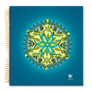 2022 (Jan-Dec) Dated Yearly Planner Hard Cover—Mandala
