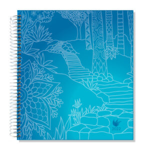 2022 (Jan-Dec) Dated Yearly Planner Hard Cover—The Path