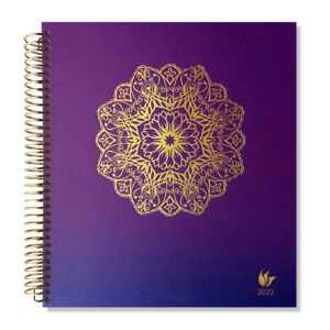 2022 (Jan-Dec) Dated Yearly Planner Hard Cover—Radiance