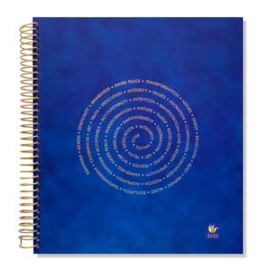 2022 (Jan-Dec) Dated Yearly Planner Hard Cover—Spiral Of Life